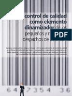 El Control de Calidad Como Elemento Dinamizador Mayo 2010