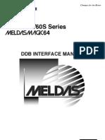 Meldas 60-60S DDB Interface BNP-B2214