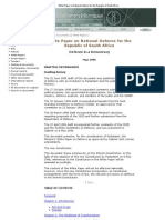 White Paper on National Defence for the Republic of South Africa