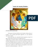 La Trinita Di Andrej Rublev