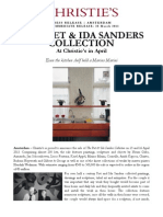 The Piet & Ida Sanders Collection, 15 & 16 April - Christie's Amsterdam