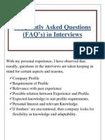 Interview Questionaire.