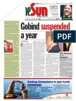 thesun 2009-03-17 page01 gobind suspended a year