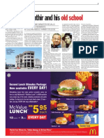 thesun 2009-03-18 page07 mahathir and his old school