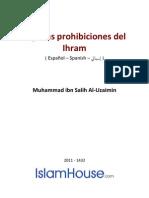 Es Algunas Prohibiciones Del Ihram