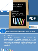 36592728 Role of DFHI in Money Market