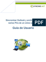 Sincronizar PCs Para Un Unico Usuario