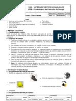 PES.3.1 v1 - Fundação - Cravação de estacas pré-moldadas em concreto