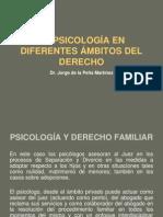LA PSICOLOGÍA EN DIFERENTES ÁMBITOS DEL DERECHO