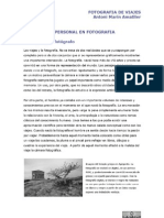Antoni Marin Amatller - Proyecto Personal