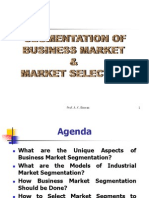 Business Market Segmentation [p]