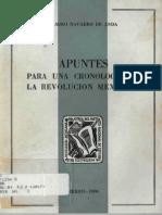 ApuntesParaUnaCronologiaDeLaRevolucionMexicana