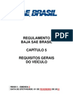 Baja 2013 RBSB 5 - Requisitos Gerais Do Veiculo - Emenda 2