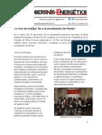 Foro de Energía -No a la privatización de Pemex