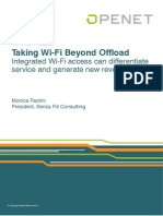 Wi Fi Beyond Offload