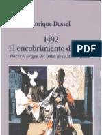 1492. El Encubrimiento Del Otro
