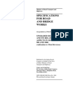 Specifications for Road and Bridge Works%2C 2000