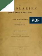 Ernst Haeckel - Die Radiolarien (Band III & IV, 1888)
