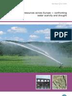 Water Resources Across Europe - EEA Final Report