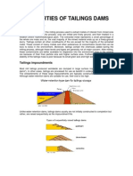 Tailings Dam Construction Methods