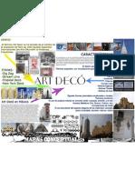Art Deco Resumen Mapa Conceptual