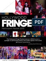 2013 HFF Participant Packet