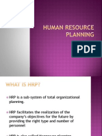 HR- Manpower Planning