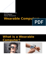 Wearable Computers Presentation