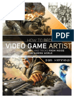 How to Become a Video Game Artist by Sam R. Kennedy