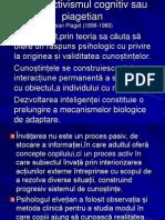 Constructivismul Cognitiv Sau Piagetian,Seminar 6.Moisa Diana.gr1