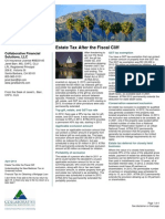 Collaborative Financial Solutions Newsletter April 2013