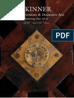 Skinner Auction Catalogue 2452 European Furniture & Decorative Arts