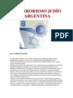 EL TERRORISMO JUDÍO EN LA ARGENTINA por Norberto Ceresole