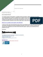 Excessive Force Complaint Investigation Arlington Police Department