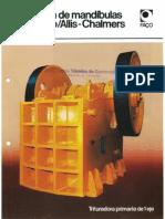 Trituradora de Mandibulas Linea Faco Allis-Chalmers
