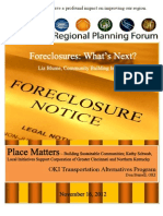 Regional Planning Forum Booklet for the November 2012 meeting.