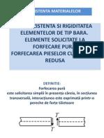 Forfecare pura