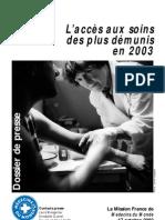 médecins du Monde accès aux soins