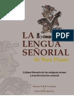 La lengua señorial de Ñuu Dzaui.pdf