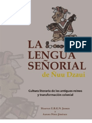 pdfMesoamérica La Ñuu Dzaui Lengua De Maya Señorial Civilización wuPlkXZOiT
