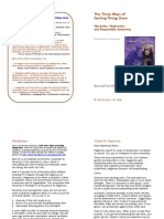 The Three Ways of Getting Things Done - Executive Summary