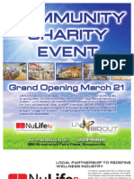 LivNsideout Community Charity Event