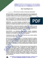 INSTRUCCIONES FORMACIÓN CONTINUADA 2009