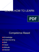 1 Learn How to Learn