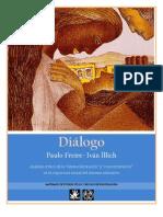 DIÁLOGO. Intervención de Paulo Freire