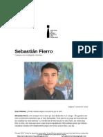 Privadoentrevistas Sebastian Fierro