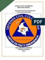 Reglamento Escuela Internacional 2011