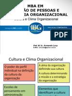 Cultura e Clima Organizacional