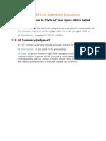 12(b)(6) vs Summary Judgment StepbyStep
