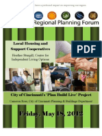 Regional Planning Forum Booklet for May, 2012